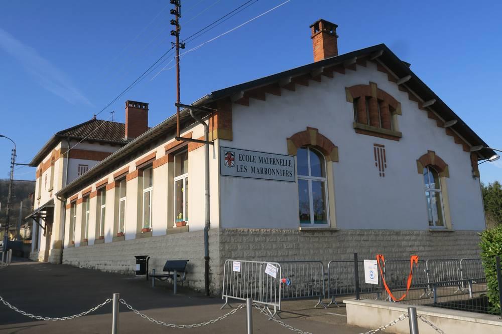 Ecole maternelle les marronniers seremange erzange